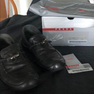 Prada sport loafers